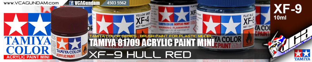 ACRYLIC XF-9 HULL RED