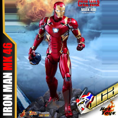 HOT TOYS 1/6 IRON MAN MARK XLVI (DIECAST) เหล็กหล่อ