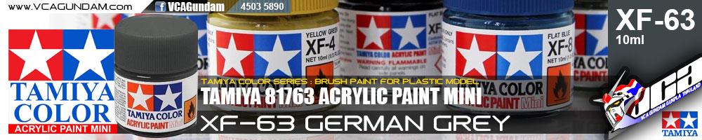 Tamiya 81763 ACRYLIC XF-63 GERMAN GREY