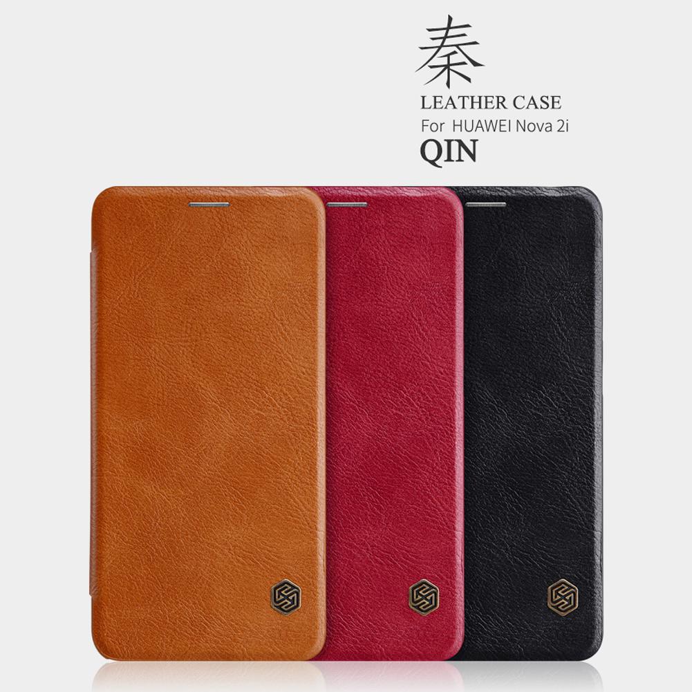 เคสฝาพับ NILLKIN Qin Leather Case Huawei Nova 2i