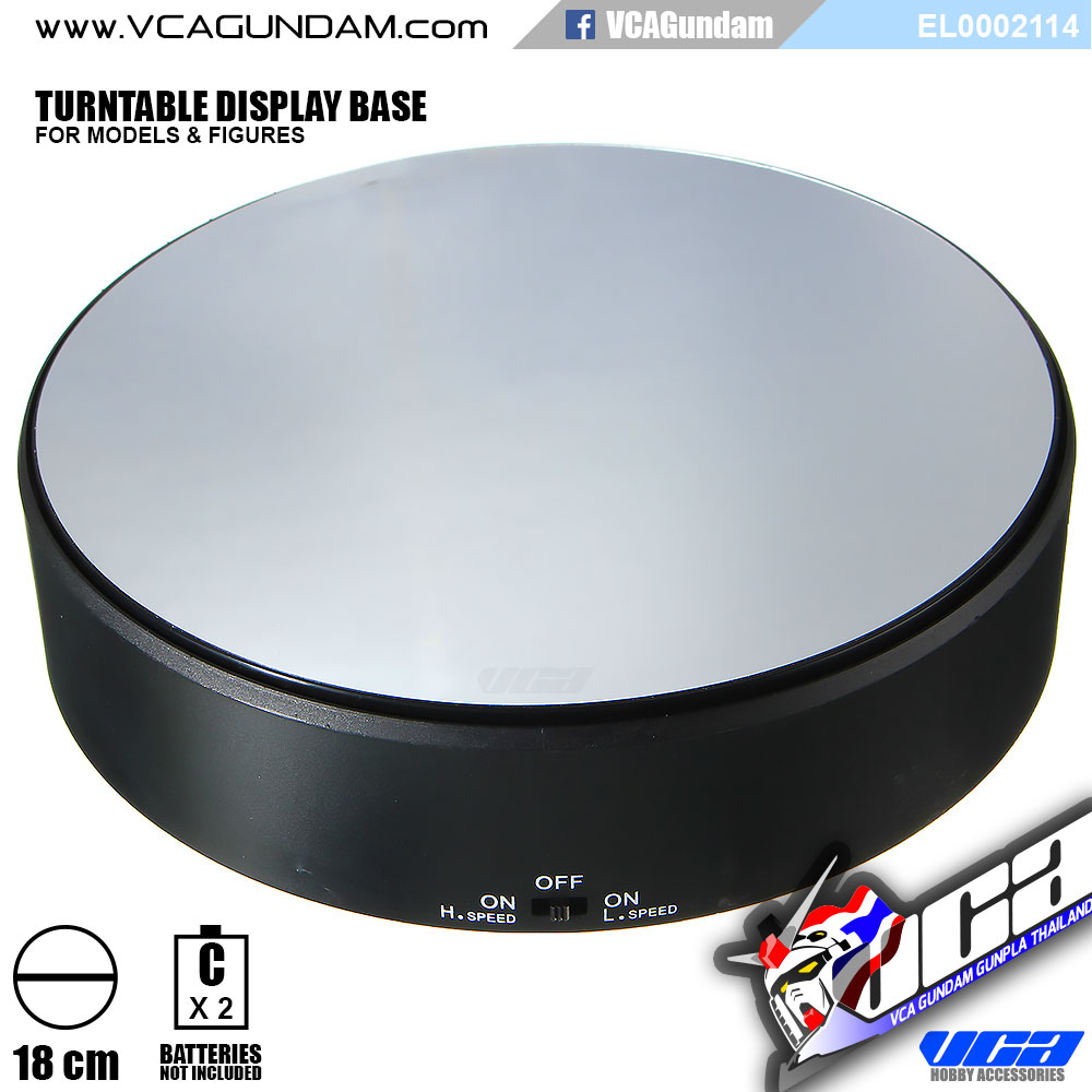TURNTABLE DISPLAY BASE