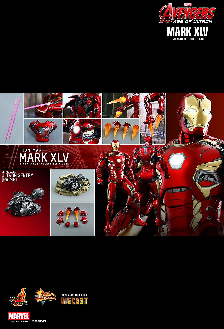HOT TOYS 1/6 IRON MAN MARK XLV (DIECAST) ไอรอนแมน Mark 45