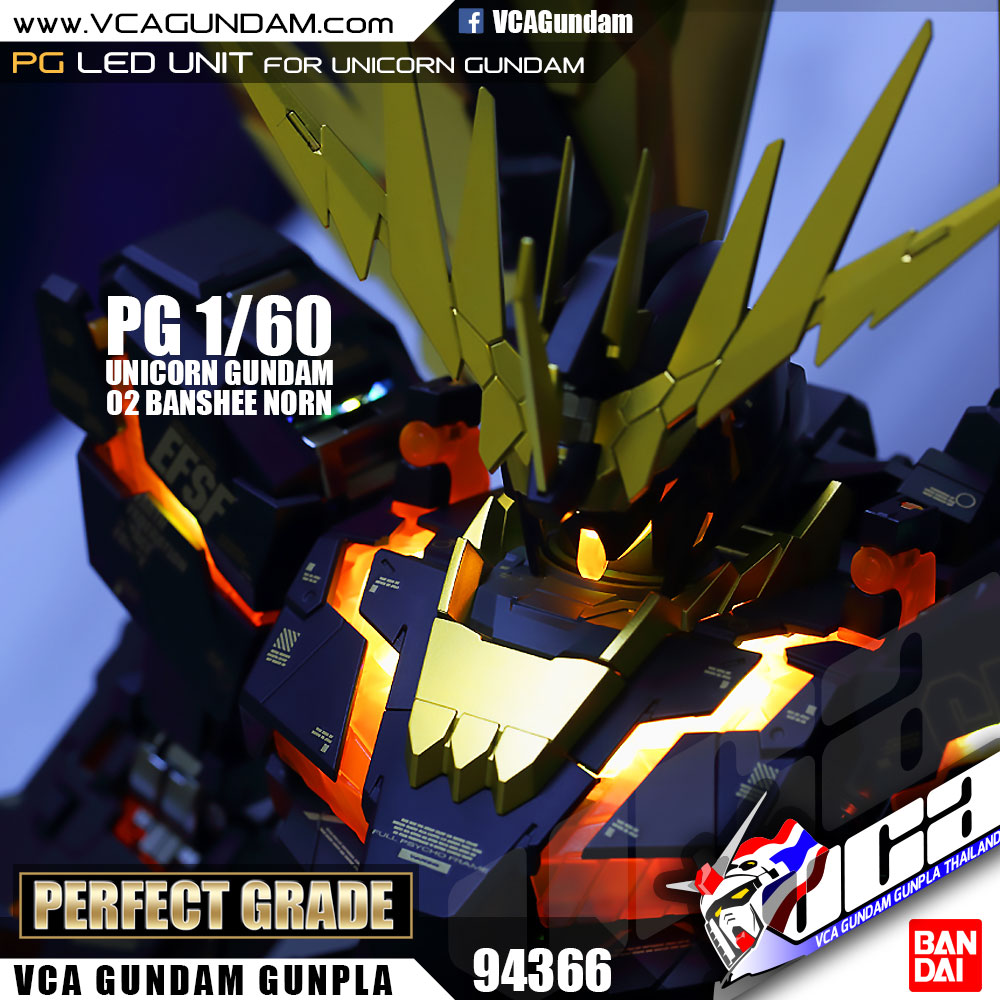 PG LED UNIT FOR UNICORN GUNDAM & BANSHEE NORN