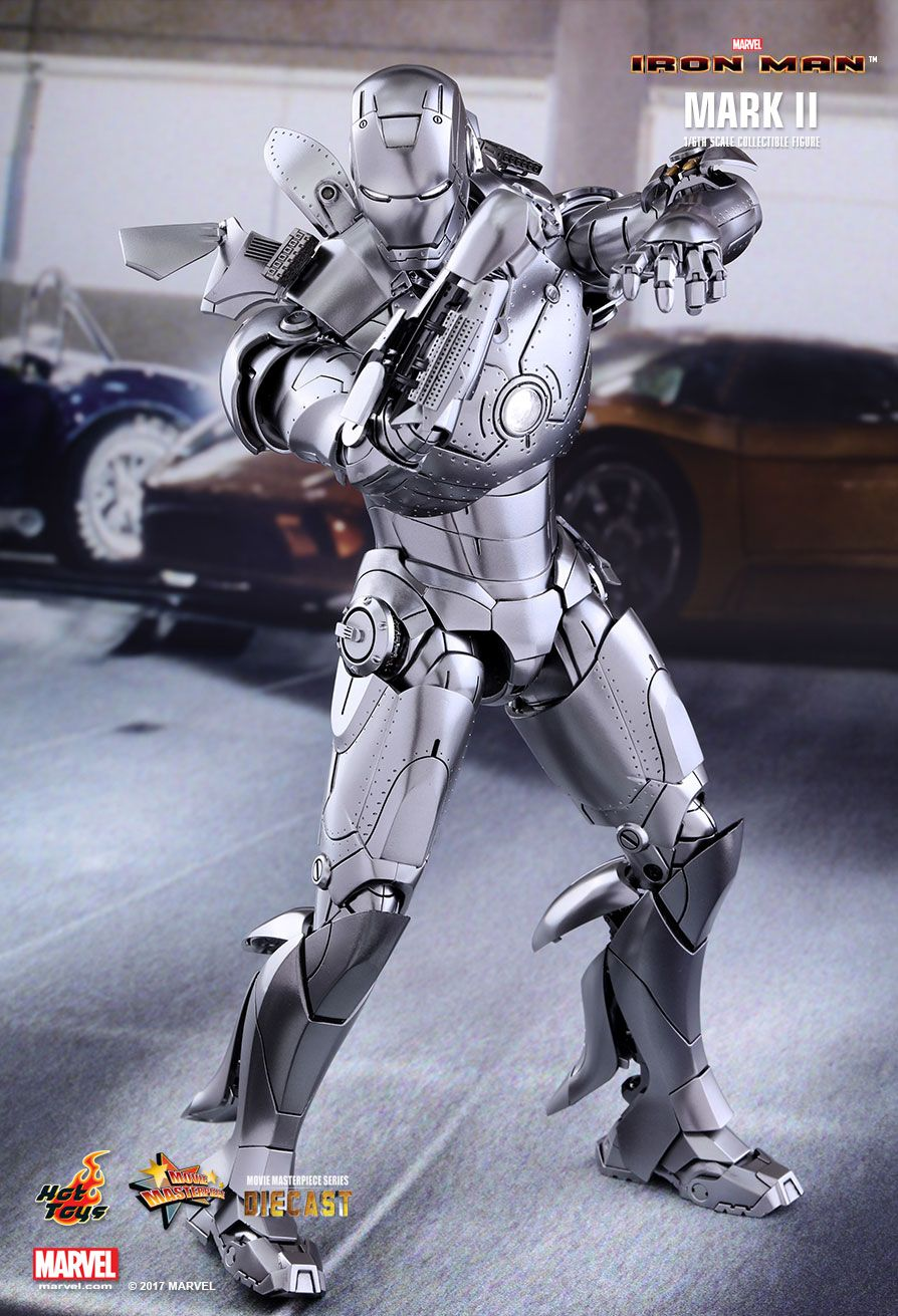 HOT TOYS 1/6 IRON MAN MARK II (DIECAST)