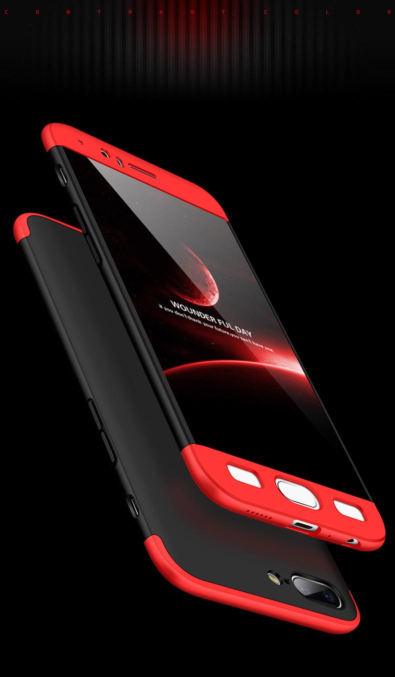เคส GKK กันกระแทก 360 องศา แบบประกอบ 3 ส่วน หัว-กลาง-ท้าย OnePlus 5