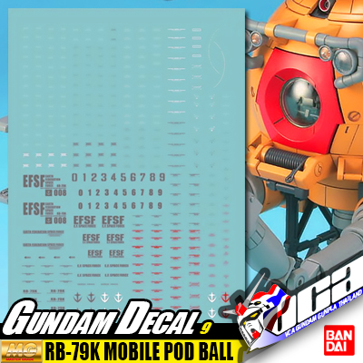 GD9 | MG RB-79K MOBILE POD BALL