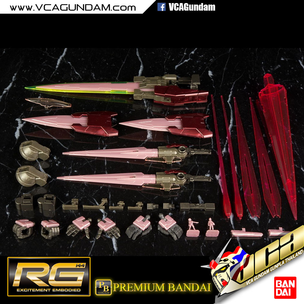 RG P-Bandai 00 RAISER ver Trans-AM