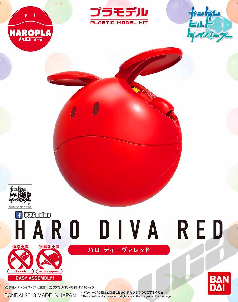 HAROPLA DIVA RED