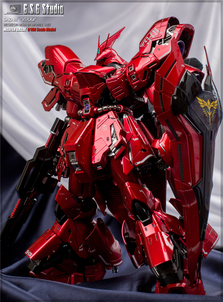 MG 1/100 SAZABI VER KA | Painted Build by G.S.G Studio