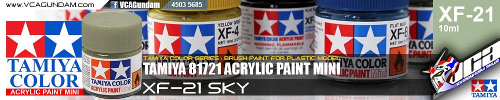 TAMIYA 81721 ACRYLIC XF-21 SKY