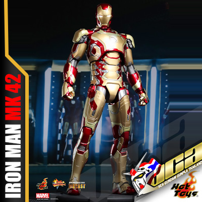 HOT TOYS 1/6 IRON MAN MARK XLII (DIECAST) เหล็กหล่อ