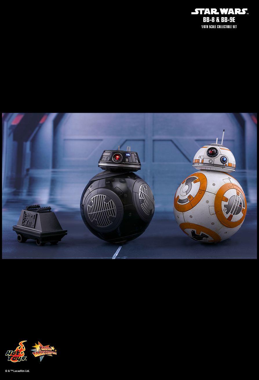 HOT TOYS 1/6 BB-8 & BB-9E