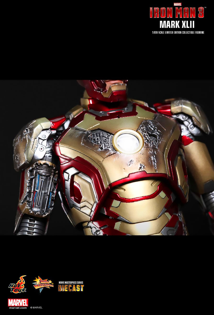HOT TOYS 1/6 IRON MAN MARK XLII (DIECAST) ไอรอนแมน Mark 42