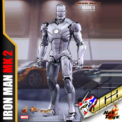 Hot Toys® โมเดล 1/6 IRON MAN MARK II (DIECAST)