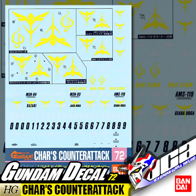 GD72   HG CHAR'S COUNTERATTACK