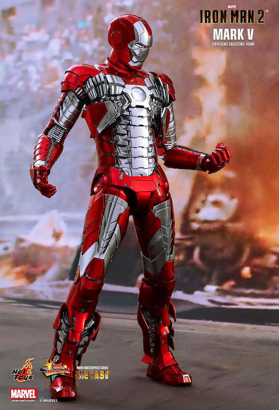 HOT TOYS 1/6 IRON MAN MARK V (DIECAST) ไอรอนแมน MARK 5