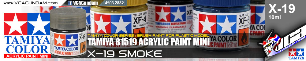 ACRYLIC X-19 SMOKE