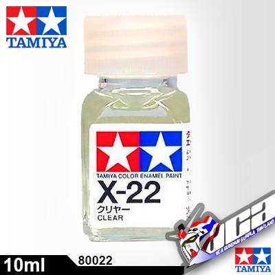 ACRYLIC X-22 ENAMEL CLEAR 10ML