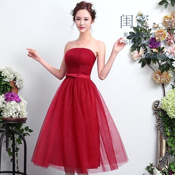 ชุดราตรียาวสีแดง เกาะอก ลุคสวยหวาน เรียบหรู ดูดี ใส่ออกงาน ไปงานแต่งงาน ชุดเพื่อนเจ้าสาว
