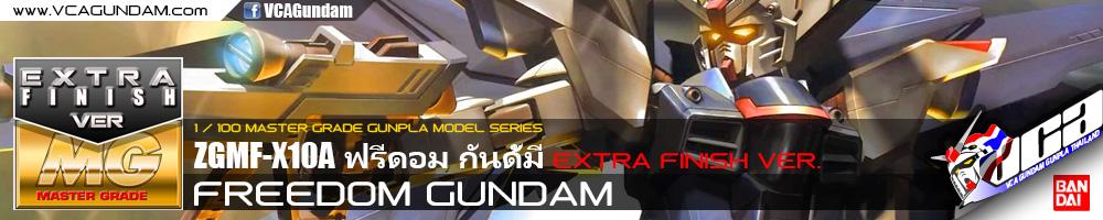 MG FREEDOM GUNDAM EXTRA FINISH VERSION ฟรีดอม กันดั้ม