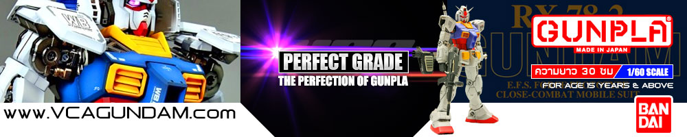 Perfect Grade 1/60 Gundam Gunpla Model Kits