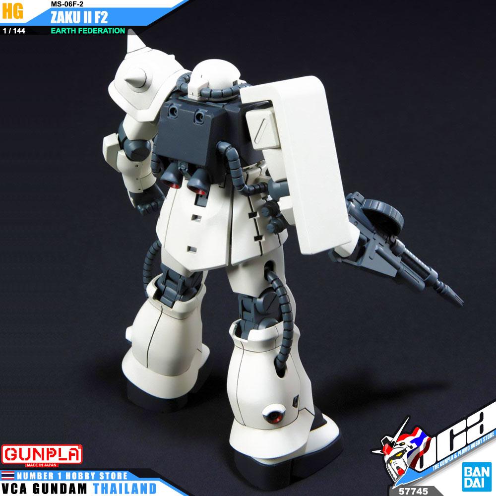 Gundam MS-06F-2 Zaku II F2 EFSF HGUC 1//144 Scale