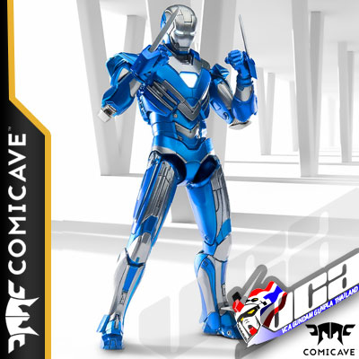 COMICAVE 1/12 IRON MAN MARK XXX BLUE STEEL (DIECAST) เหล็กหล่อ