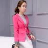 เสื้อสูททำงานผู้หญิงสีชมพู