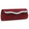 กระเป๋าคลัทช์ออกงานสีแดง ทรงยาว แต่งเพชร ถือออกงาน ไปงานแต่งงาน ลุคเรียบๆ สุดหรู