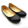 รองเท้าคัชชูส้นแบนRovy [W1303] - Black