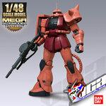 1/48 MEGASIZE MS-06S ZAKU II