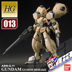 HG GUNDAM GUSION REBAKE