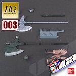 HG MS OPTION SET 3 & GJALLARHORN MOBILE WORKER