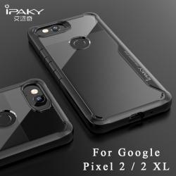 เคสกันกระแทก iPAKY LEKOO Series Silicone Frame Google Pixel 2 XL