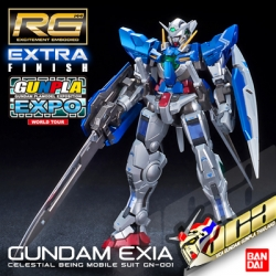 EXPO LIMITED RG GUNDAM EXIA EXTRA FINISH