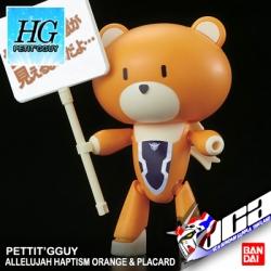 HG PETIT'GGUY ALLELUJAH HAPTISM ORANGE & PLACARD