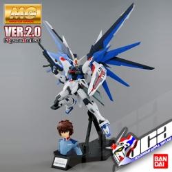 MG FREEDOM GUNDAM VER 2.0 + KIRA YAMATO
