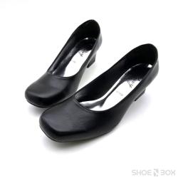 คัชชูส้นสูงRovy [W1108] [2นิ้ว] - Black