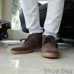 รองเท้าบูทชายPBshoe [PB702] - D.Brown
