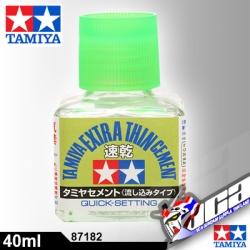 TAMIYA EXTRA THIN CEMENT QUICK SETTING 40ml