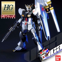 HG NU GUNDAM (METALLIC COATING VER)