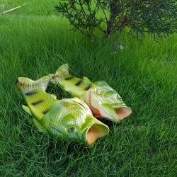 รองเท้าแตะปลา สีเขียว [Size30-41]
