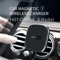 ที่ยึดมือถือในรถและชาร์จไร้สาย NILLKIN Car Magnetic II Wireless Charger (Fast Charge Edition)