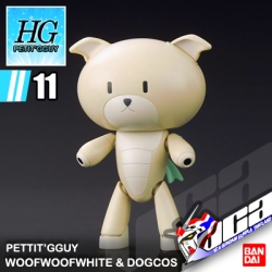 HG PETIT'GGUY WOOFWOOFWHITE & DOGCOS