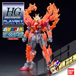 EXPO LIMITED HG TRY BURNING GUNDAM PLAVSKY CLEAR