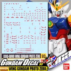 GD93   MG WING GUNDAM PROTO ZERO