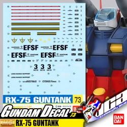 GD73 | MG RX-75 GUNTANK