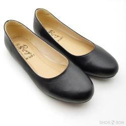 รองเท้าคัชชูส้นแบนRovy [W1107] - Black