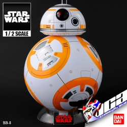 1/2 BB-8 (GLOSS FINISH)