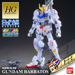 EXPO LIMITED ★ HG GUNDAM BARBATOS CLEAR COLOR VER
